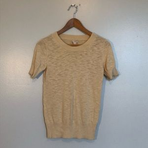 Worn once! J Crew Factory Short Sleeve Sweater